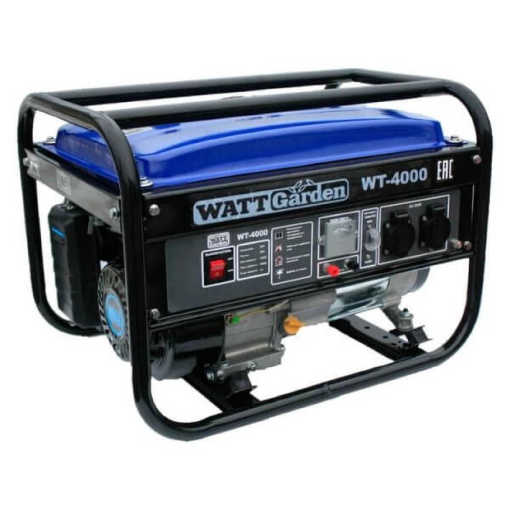 Бензиновый генератор WATT WT-4000