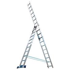 Лестница-стремянка Алюмет трехсекционная универсальная 5312 3x12